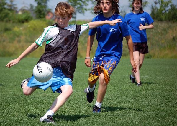 Children Sport heart