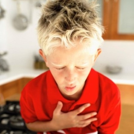 Chest pain in children