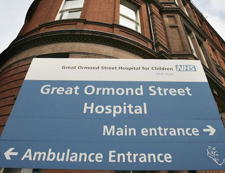 Great Ormond Street Hospital for Sick Children in London